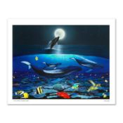 """""""The Living Sea"""" Limited Edition Giclee on Canvas by Renowned Artist Wyland, Num"""