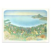 """Rolf Rafflewski, """"Agay"""" Limited Edition Lithograph, Numbered and Hand Signed."""