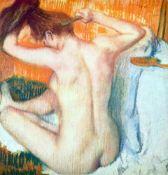 Edgar Degas - Women At The Toilet #2