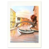 """Victor Zarou, """"Camargue"""" Limited Edition Lithograph, Numbered and Hand Signed."""