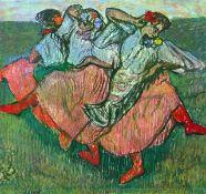 Edgar Degas - Three Russian Dancers