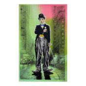 Charlie Chapin by Steve Kaufman (1960-2010)
