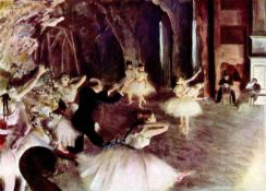 Edgar Degas - Stage Probe