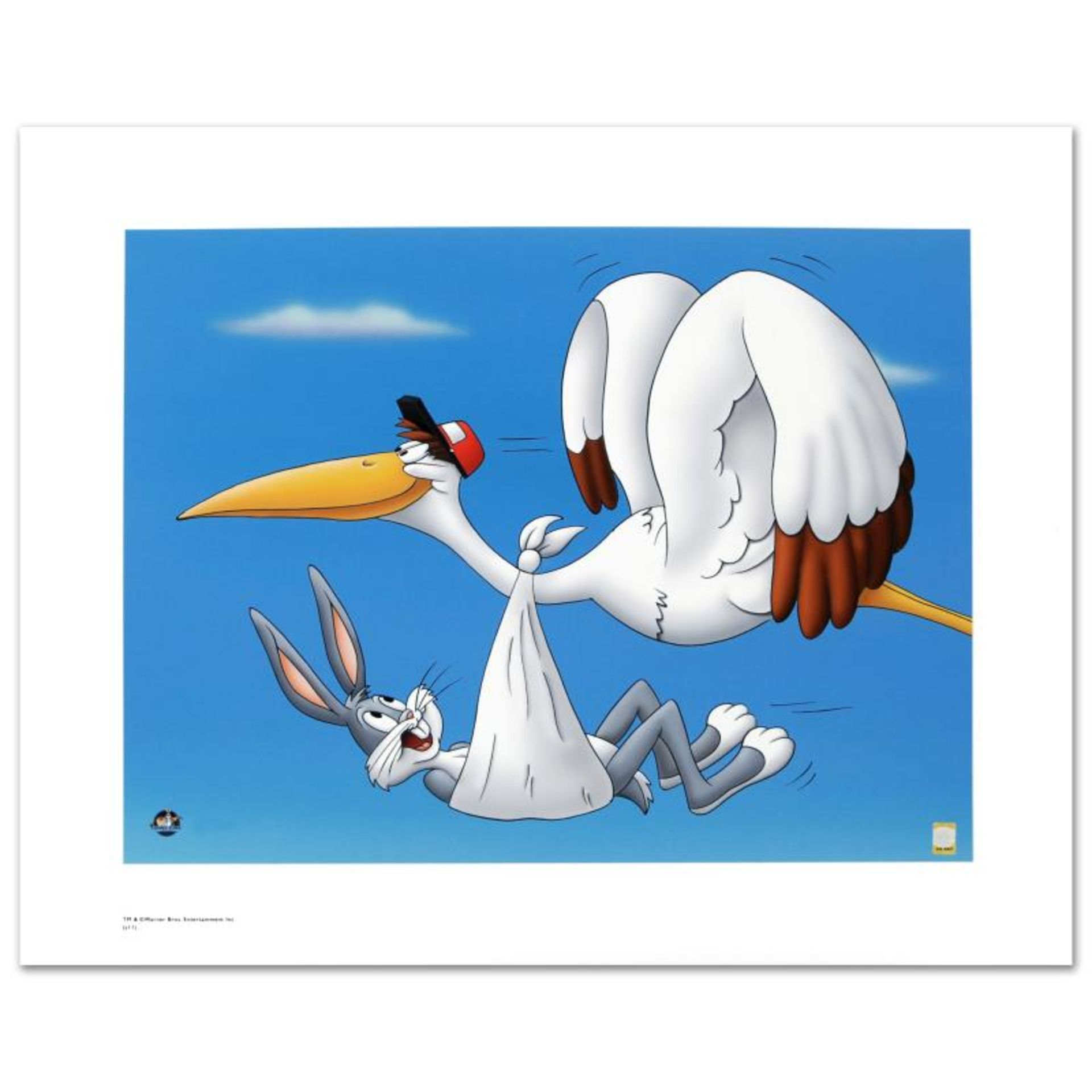 """Special Delivery"" Limited Edition Giclee from Warner Bros., Numbered with Holog"