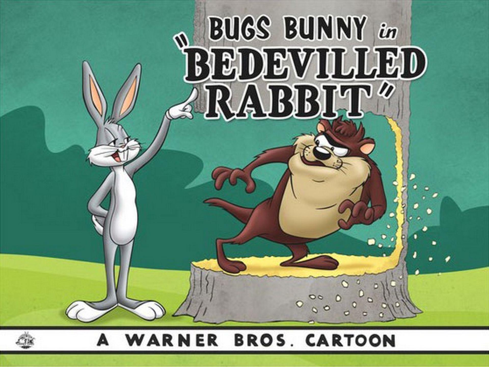 Warner Brothers Hologram Be Devilled Rabbit - Image 2 of 2