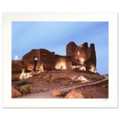 "Robert Sheer, ""White Kokopelli"" Limited Edition Single Exposure Photograph, Numb"