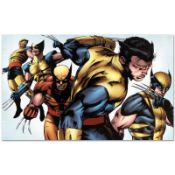 "Marvel Comics ""X-Men Evolutions #1"" Numbered Limited Edition Giclee on Canvas by"