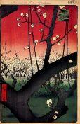 Hiroshige Plum Estates, Kameido