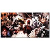 """Marvel Comics """"Daredevil #500"""" Numbered Limited Edition Giclee on Canvas by Mark"""