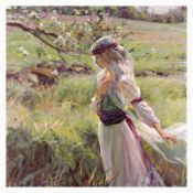 """Dan Gerhartz, """"Extending Grace"""" Limited Edition on Canvas, Numbered and Hand Sig"""
