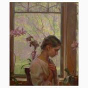 """Dan Gerhartz, """"The Orchid"""" Limited Edition on Canvas, Numbered and Hand Signed w"""