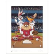 """At the Plate (Cardinals)"" Numbered Limited Edition Giclee from Warner Bros. wit"