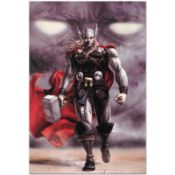 "Marvel Comics ""Astonishing Thor #5"" Numbered Limited Edition Giclee on Canvas by"
