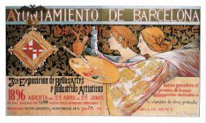 Alexandre de Riquer - 3rd Exposicion de Bellas Artes