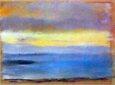 Edgar Degas - Coastal Strip At Sunset