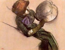 Edgar Degas - The Milliner #2