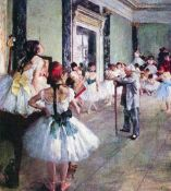 Edgar Degas - The Dance Class