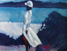"""Nicola Simbari """"White Dress"""""""