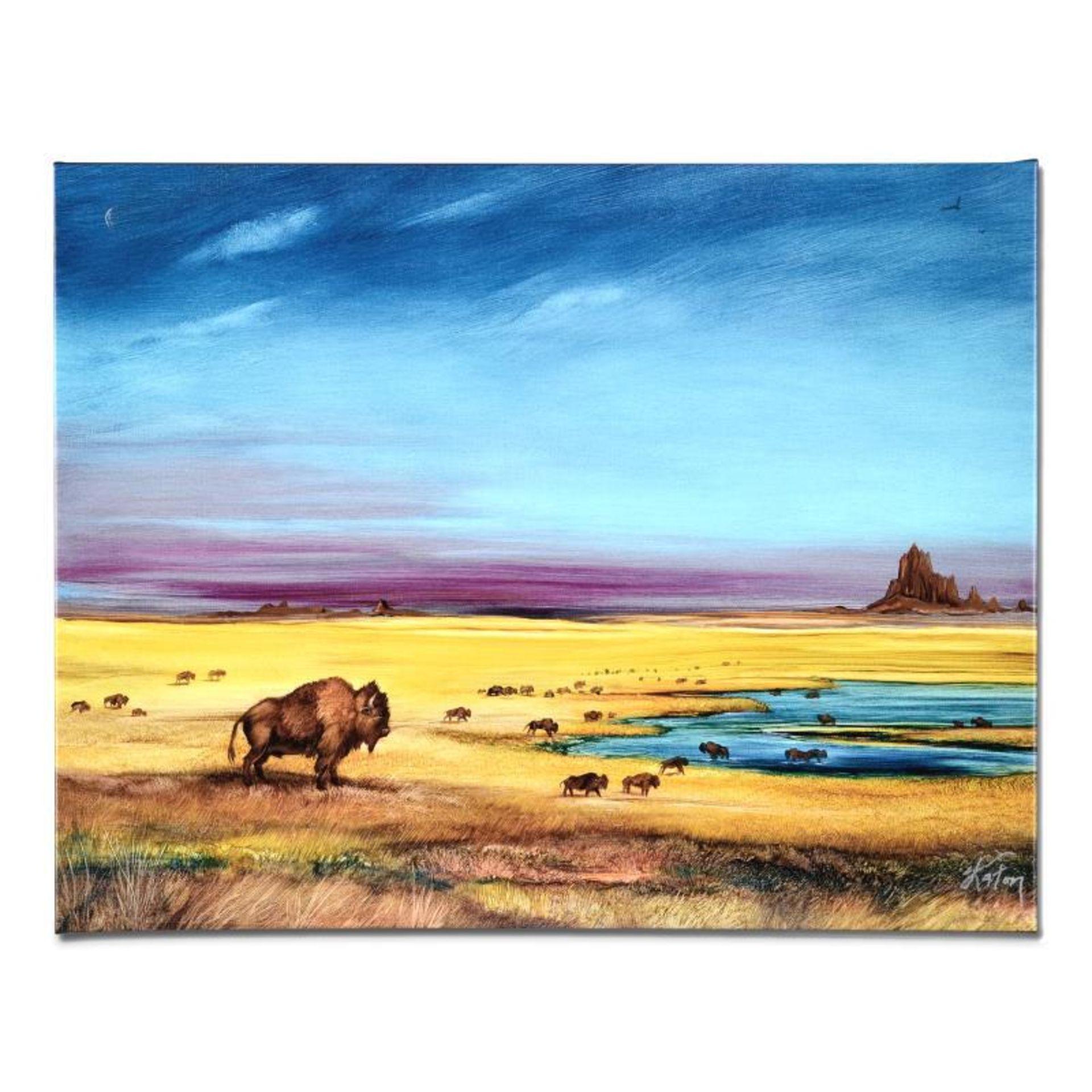 Where the Buffalo by Katon, Martin - Image 2 of 4