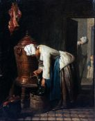 Jean Baptiste Chardin - Woman Drawing Water at the Cistern