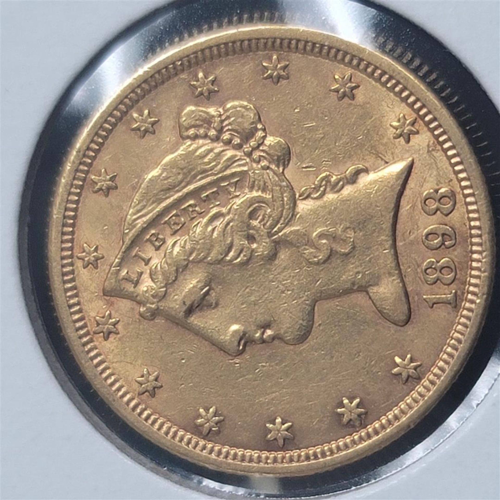 1898-S $5 Liberty Head Half Eagle AU - Image 2 of 4