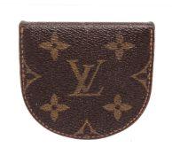 Louis Vuitton Brown Monogram Canvas Coin Purse Wallet