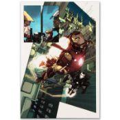 Iron Man 2.0 #1 by Marvel Comics