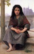 William Bouguereau - The Bohemian