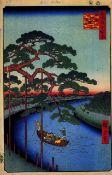 Hiroshige - Five Pine