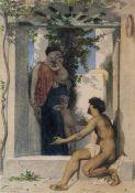 William Bouguereau - Roman Charity Unknown