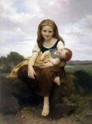 William Bouguereau - The Elder Sister