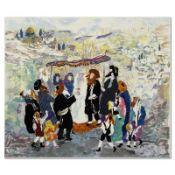 Wedding in Jerusalem II by Yellin, Judith
