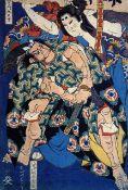 Hokusai - Kusunuki Tamonmaru