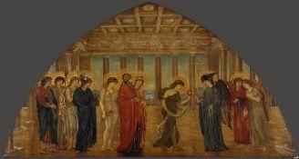 Edward Burne-Jones - Cupid and Psyche