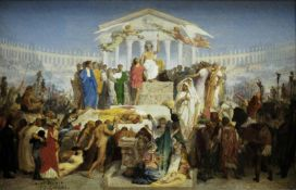 Jean-L�on G�r�me - The Age of Augustus, the Birth of Christ
