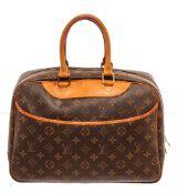 Louis Vuitton Brown Deauville Satchel Bag