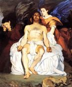 Edouard Manet - The Death of Christ with Angels