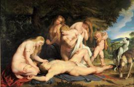 Sir Peter Paul Rubens - The Death of Adonis