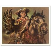 Warrior by Virginia Dan (1922-2014)