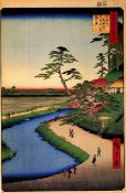 Hiroshige - Kanda Aqueduct at Sekuguc