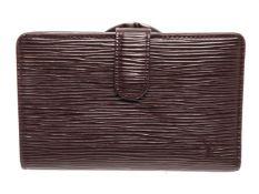 Louis Vuitton Brown Monogram Canvas French Wallet