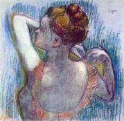 Edgar Degas - Dancer