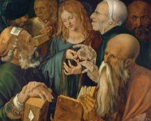 Albrecht Durer - Young Jesus Among The Scribes