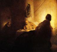 Rembrandt -Christ Conspiracy