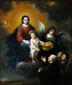 Bartolom� Esteban Murillo - The Infant Christ Distributing Bread to the Pilgri