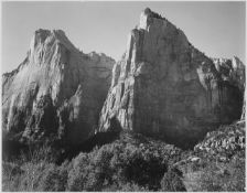 Adams - Court of the Patriarchs, Zion National Park Utah