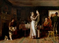 Thomas Hovenden - Breaking Home Ties