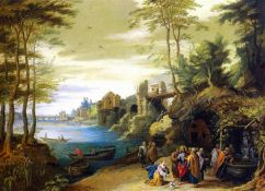 Breughel the Younger - Christ