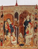 Mary Psalter - Twelve year old Christ in the temple