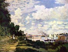Claude Monet - Seine Basin Near Argenteuil